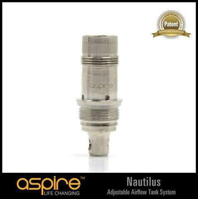Aspire Nautilus BVC Replacement Coils Nautilus, Mini & Nautilus 2 tank 5 Pack