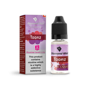 Diamond Mist E-Liquid Toonz 10ml - 12mg Nicotine