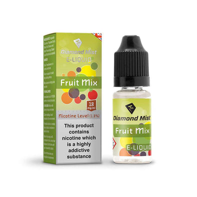 Diamond Mist E-Liquid Mixed Fruit 10ml - 18mg Nicotine