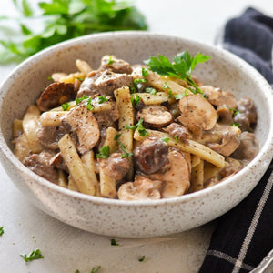 Old World Beef Stroganoff