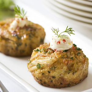 Mini Crab Cakes with Chipotle Mayo
