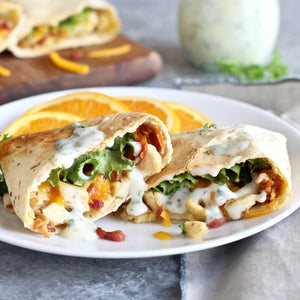 Chicken, Bacon and Ranch Wraps