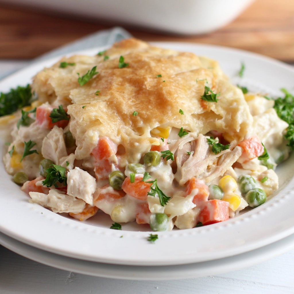 Family Style Chicken Pot Pie