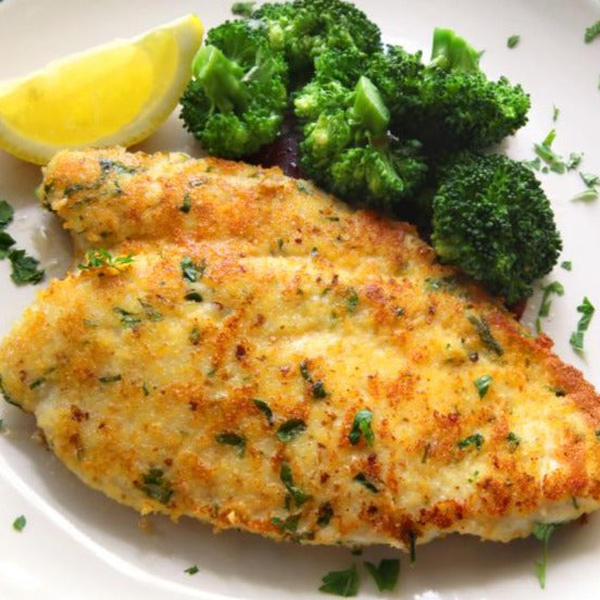 Parmesan-Crusted Chicken with Herbed Potatoes