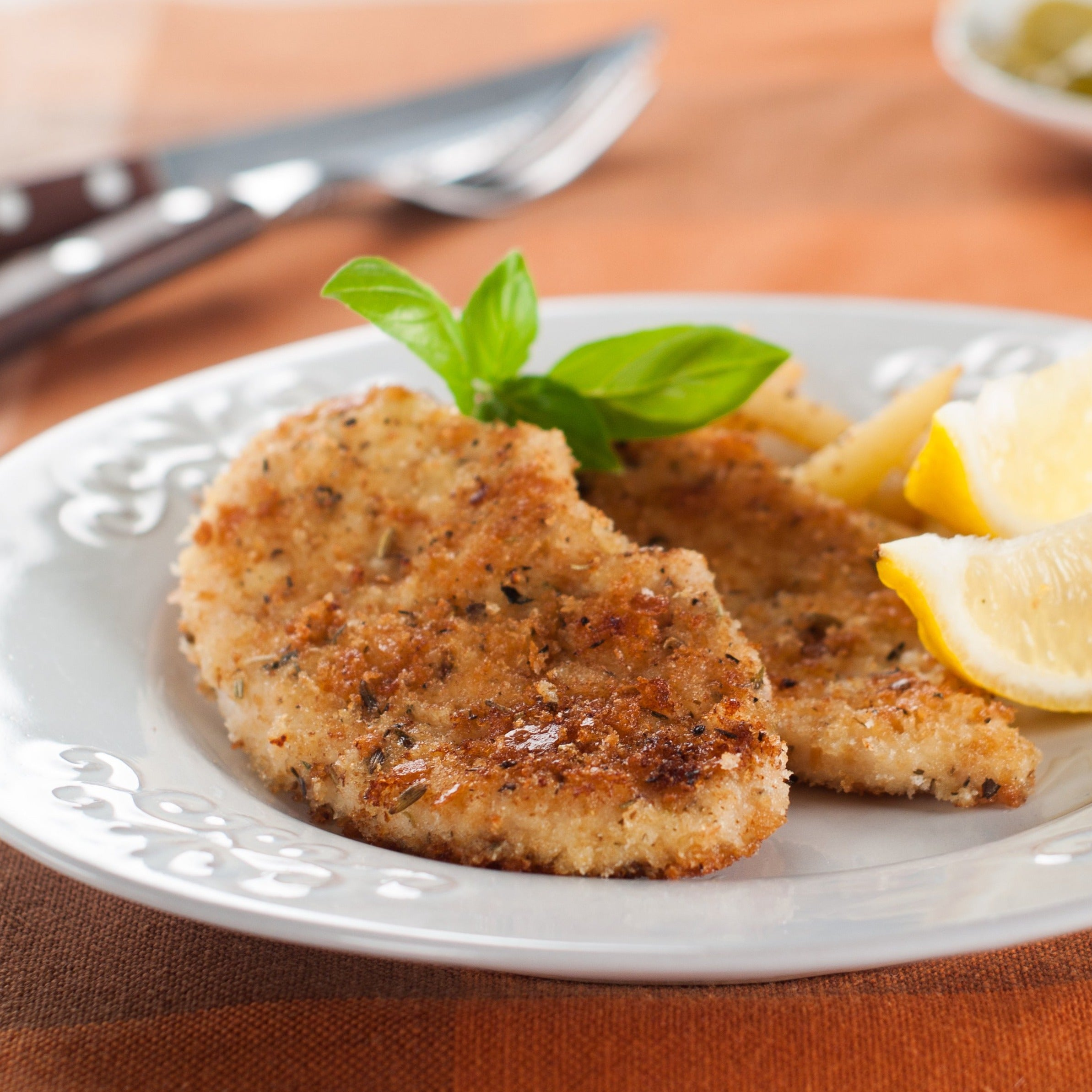 Pork Schnitzel with Buttered Spaetzle