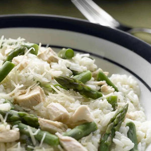 Risotto with Chicken and Asparagus