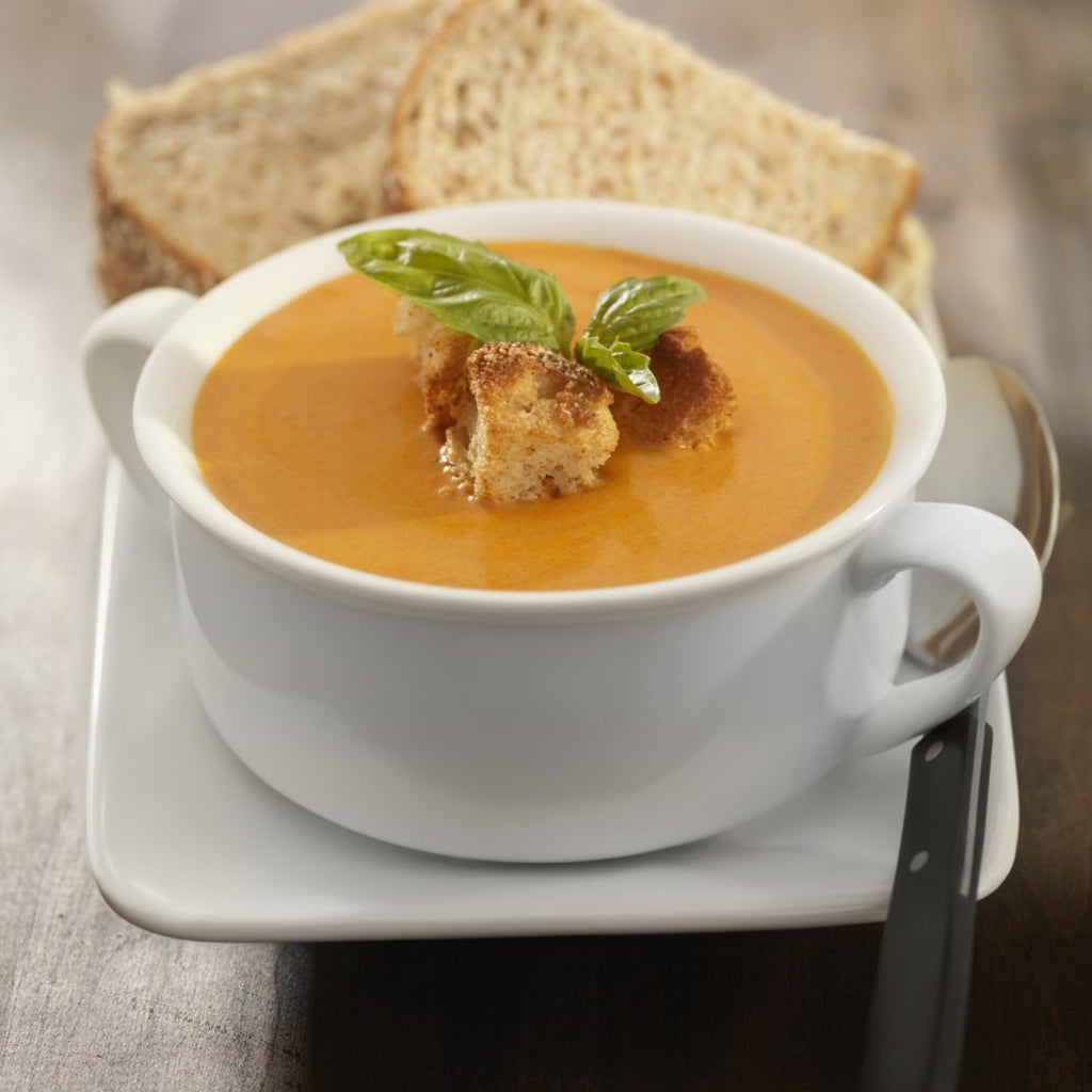 Roasted Red Pepper & Gouda Bisque