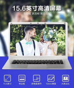 "Cheap High Quality 15.6"" HD Slim 2.00 GHz Wins10 Core Notebook Laptop Computer for Office & Business"