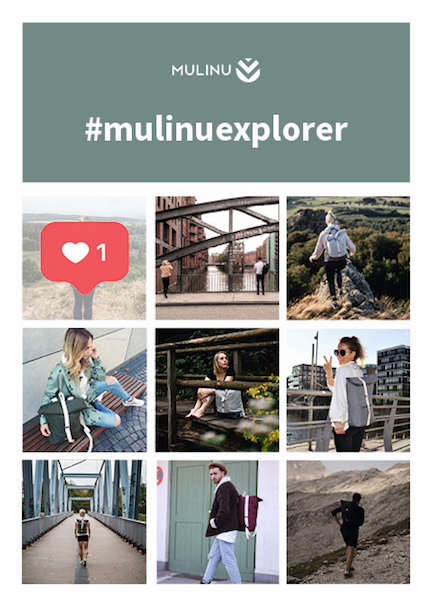 MULINU | Backpacks and Bags for the Explorers | Rucksack und Taschen | Instagram-Chellange