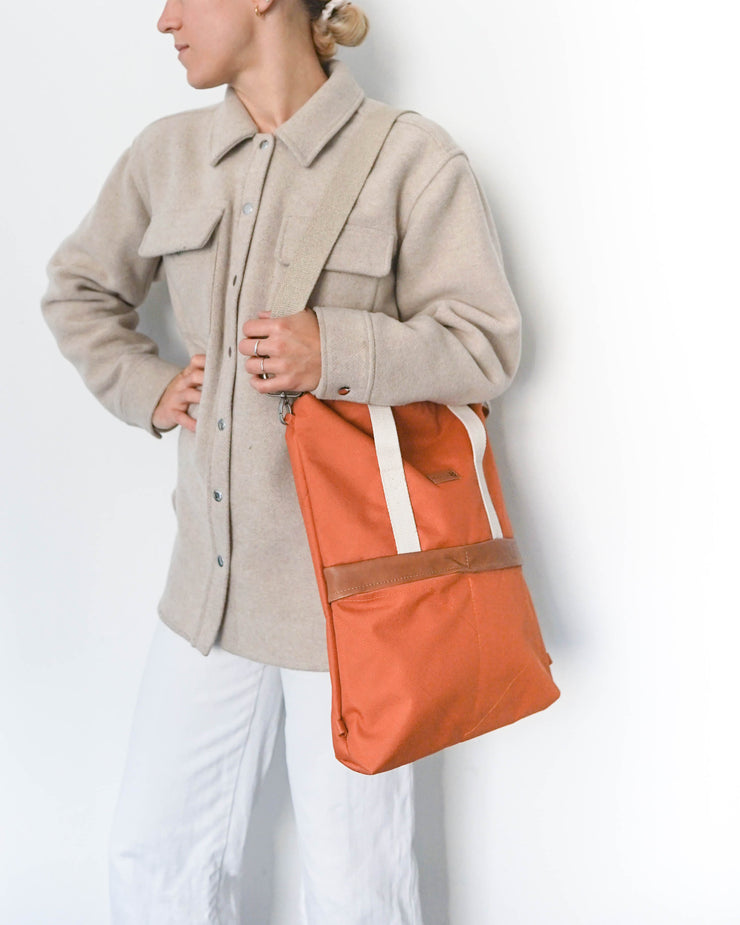 GRETA UNIQUE Terracotta Cognac Leder