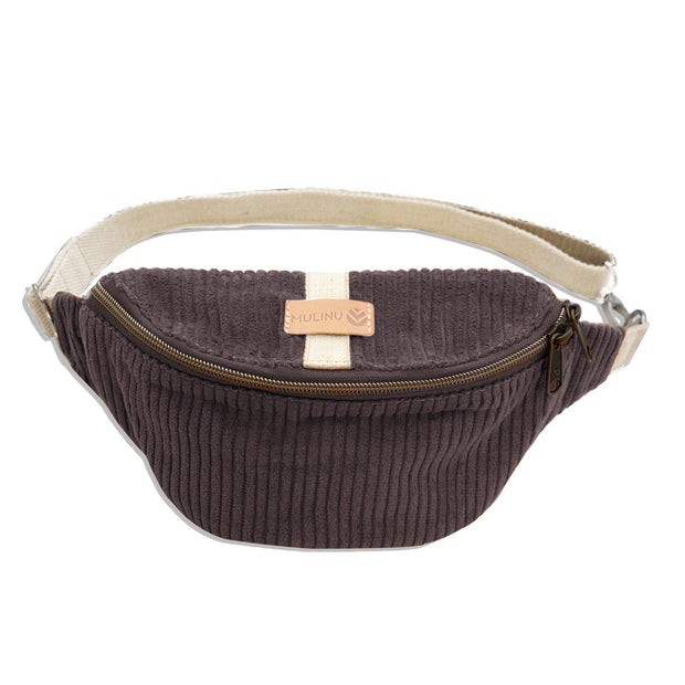 HENNES INDIVIDUAL S Hipbag Kord Taupe