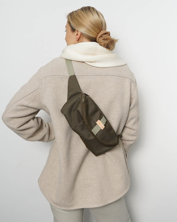 HENNES CLASSIC Hipbag M/L Olive