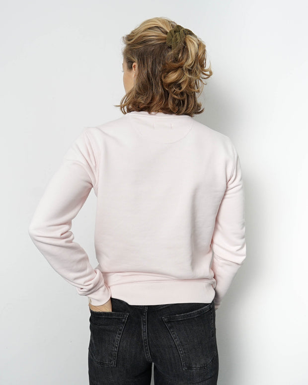 Basic Unisex Sweater Rosa
