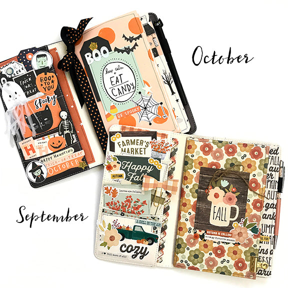 September/October Traveler's Notebook Kit