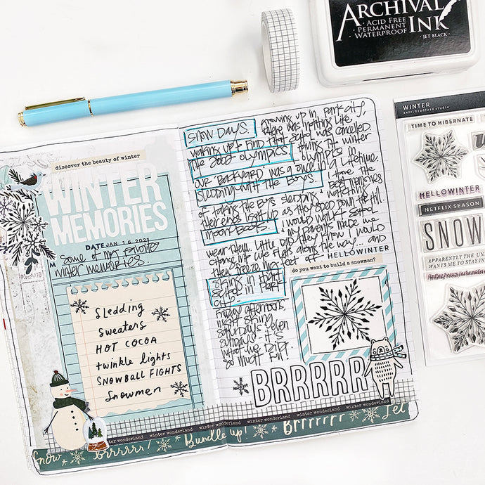 Favorite Winter Memories List