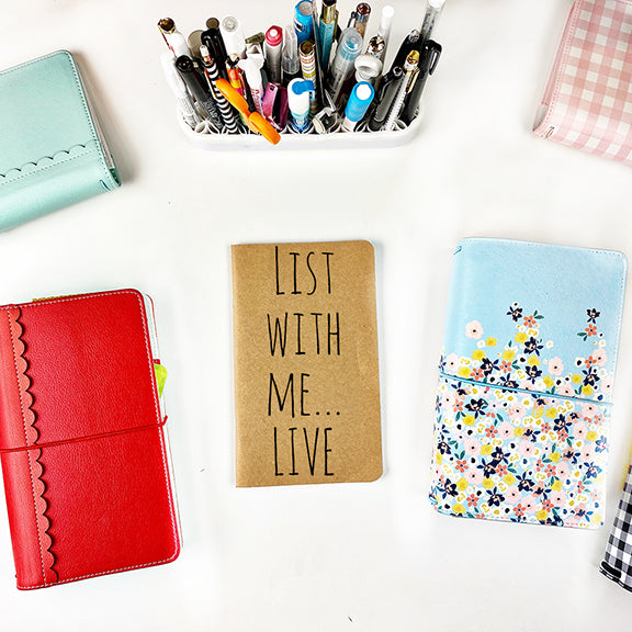 List With Me... LIVE, Traveler's Notebook Style 11.21.2020