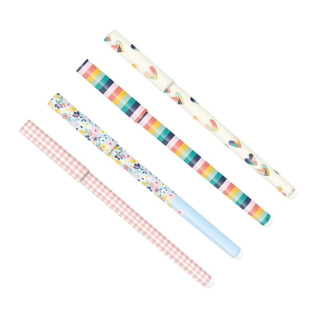 Brights Ball Point Pen 4 Pack