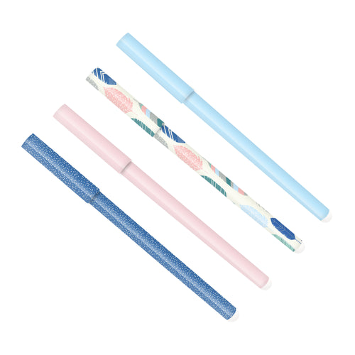 Pastels Ball Point Pen 4 Pack