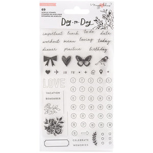 Day to Day Acrylic Stamps