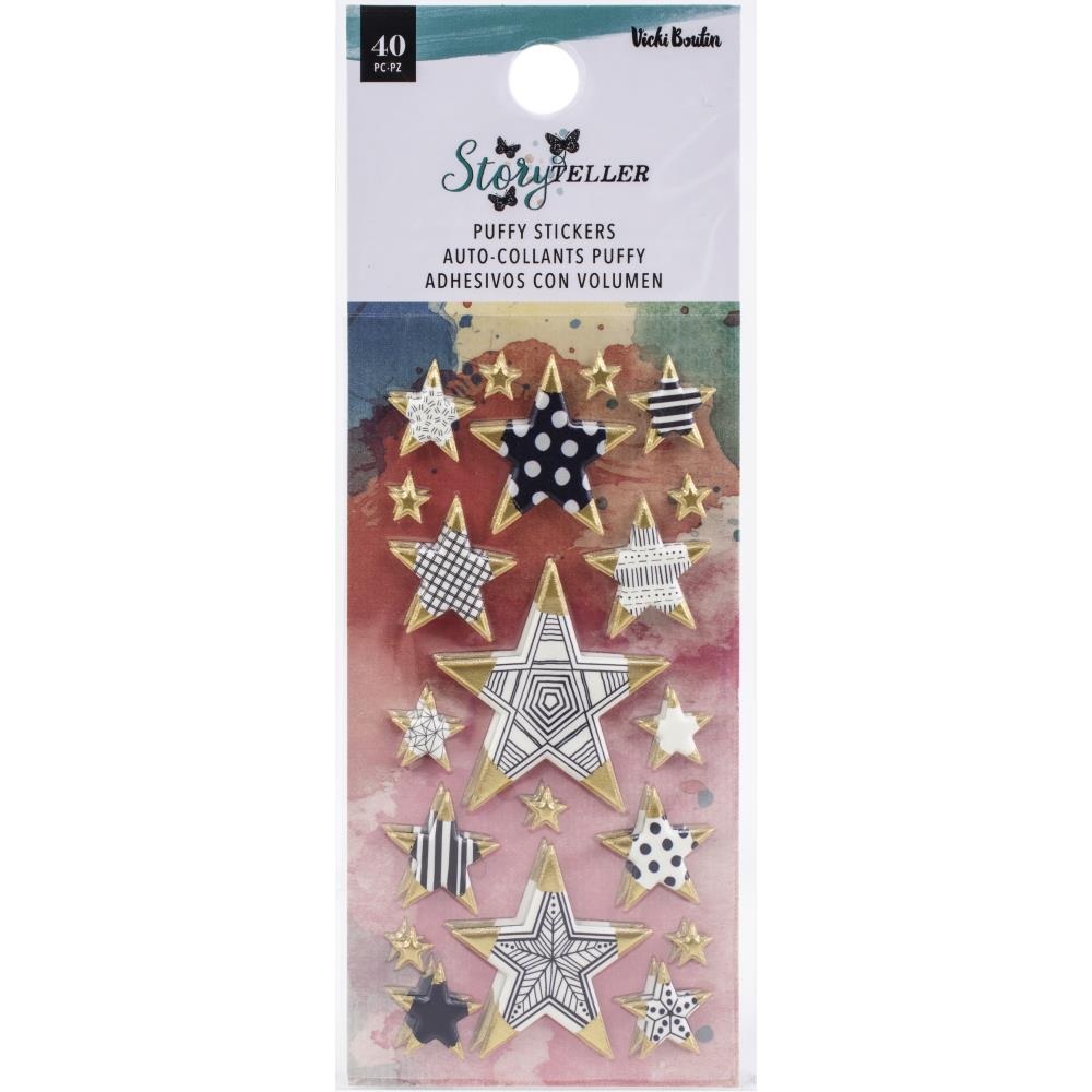Storyteller Mini Stars Puffy Stickers
