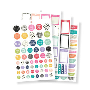 Planner Basics Sticker Tablet