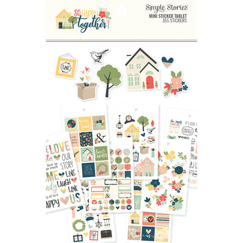 So Happy Together 4x6 Sticker Book