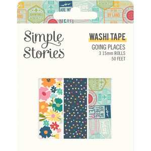 Going Places Washi Tape Trio