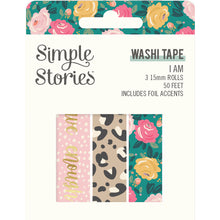 Load image into Gallery viewer, I AM Washi Tape Trio
