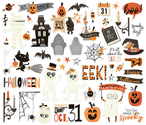 Boo Crew Bits & Pieces Die Cut Ephemera
