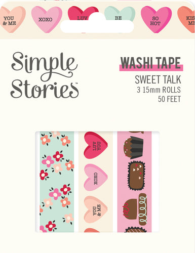 Sweet Talk Washi Tape Trio