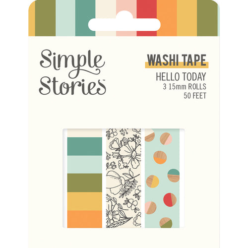 Hello Today Washi Tape Trio