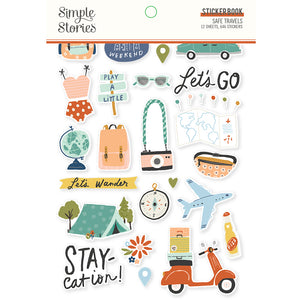 Safe Travels Sticker Book