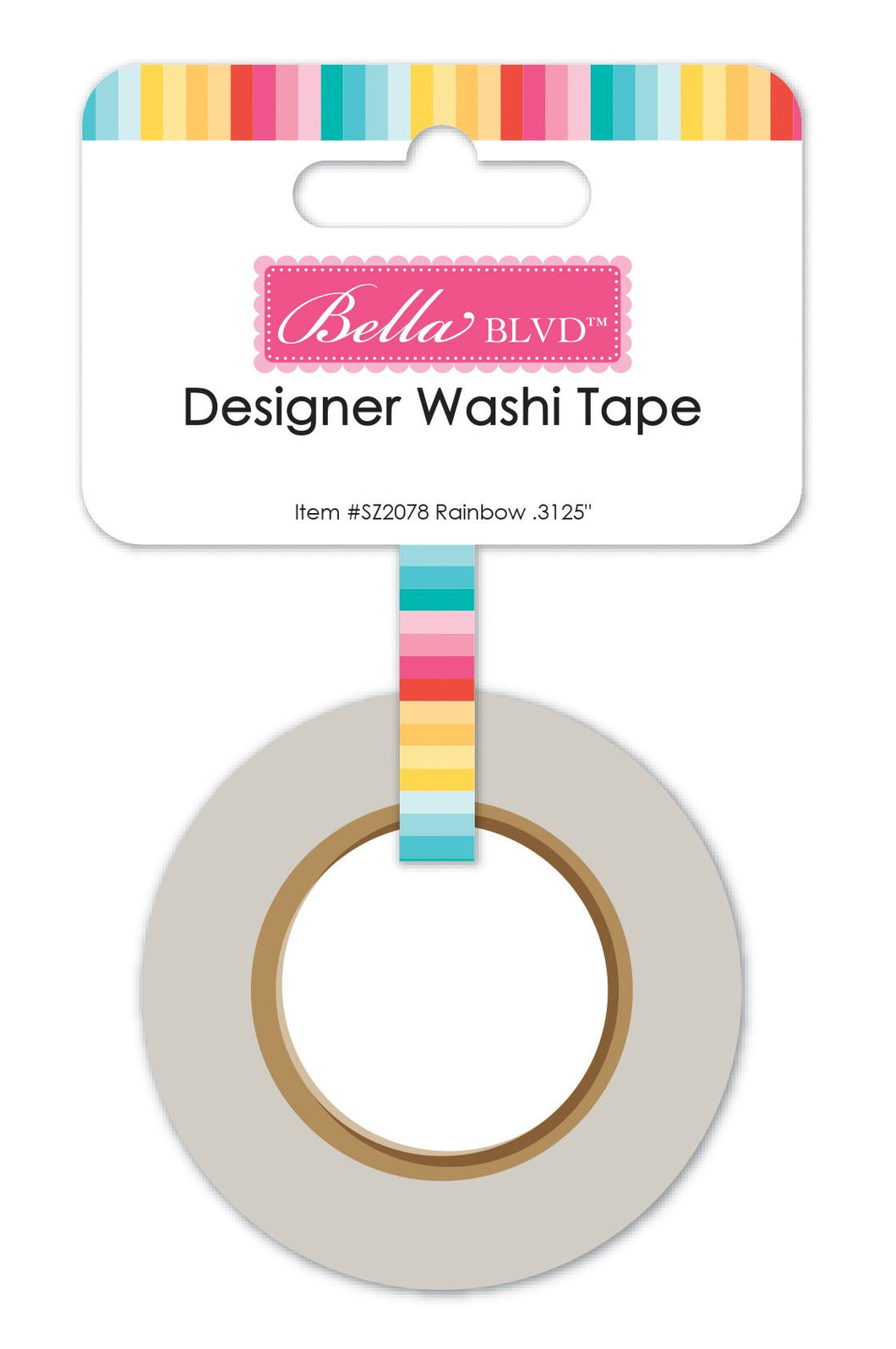 Skinny Rainbow Washi Tape