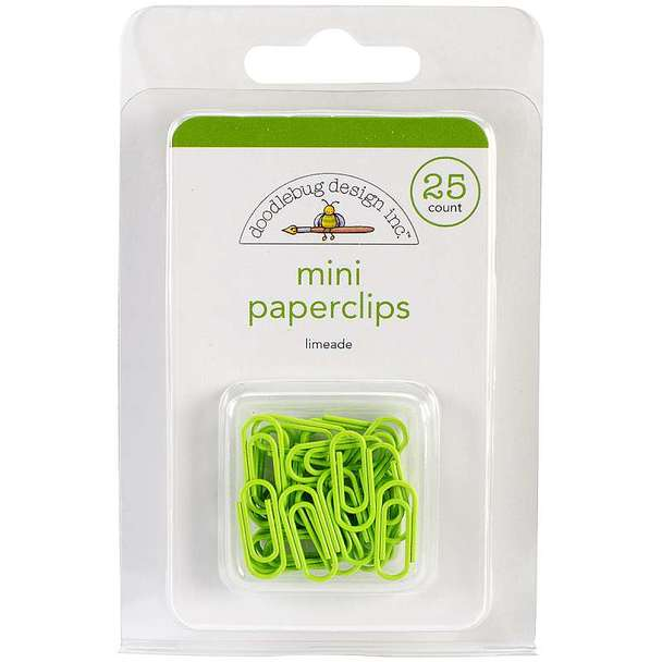 Limeade Mini Paperclips