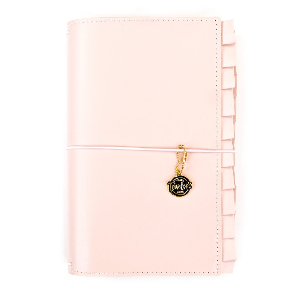 Blush Pink Ruffle Traveler's Notebook