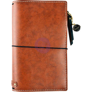 Brown Bonded Leather Traveler's Notebook