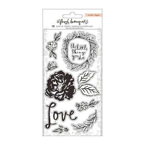 Fresh Bouquet Acrylic Stamps
