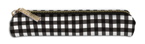 *PRE-ORDER* Buffalo Check/Black Gingham Slim Pencil Case