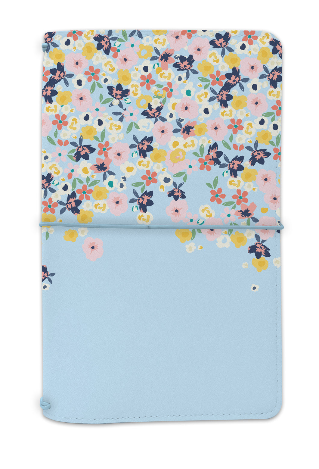 Ditsy Floral Traveler's Notebook