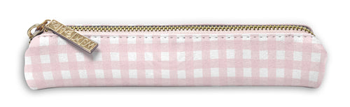 Ballerina Pink Gingham Slim Pencil Case