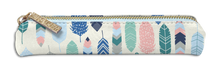 Load image into Gallery viewer, Feathers Slim Pencil Case