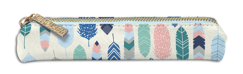 *PRE-ORDER* Feathers Slim Pencil Case