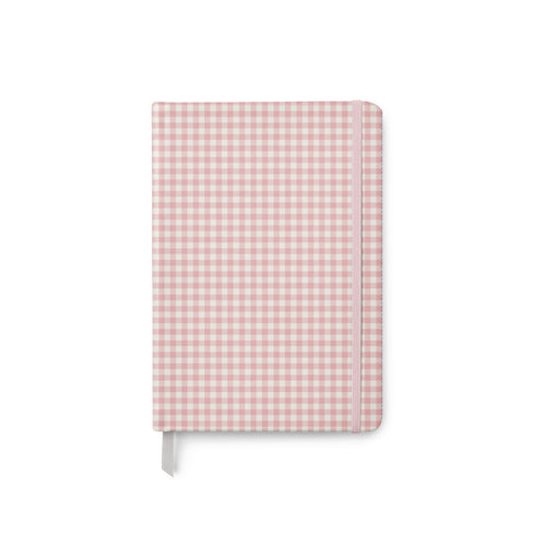 Ballerina Pink Gingham Soft Cover Journal