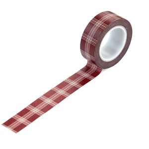 Holiday Plaid Washi Tape