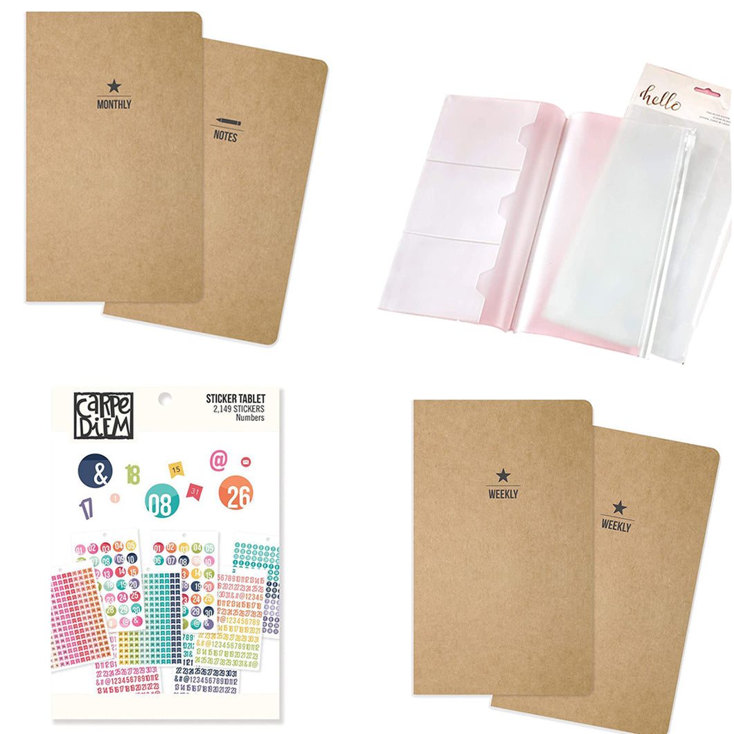 Traveler's Notebook Inserts - New Year Bundle