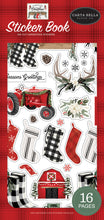 Load image into Gallery viewer, Farmhouse Christmas Sticker Book