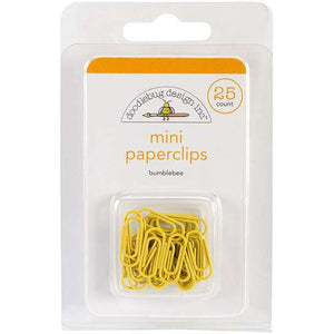 Bumblebee Mini Paperclips
