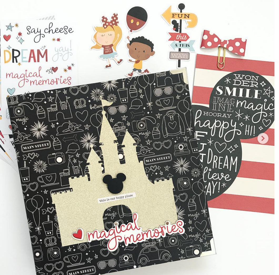Magical Disney Memories Album Kit