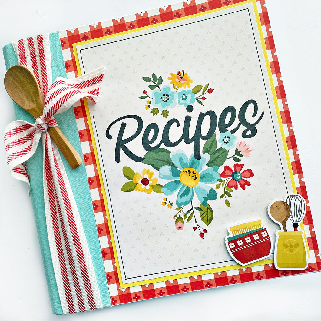 Family Favorites Recipe Book Project Kit
