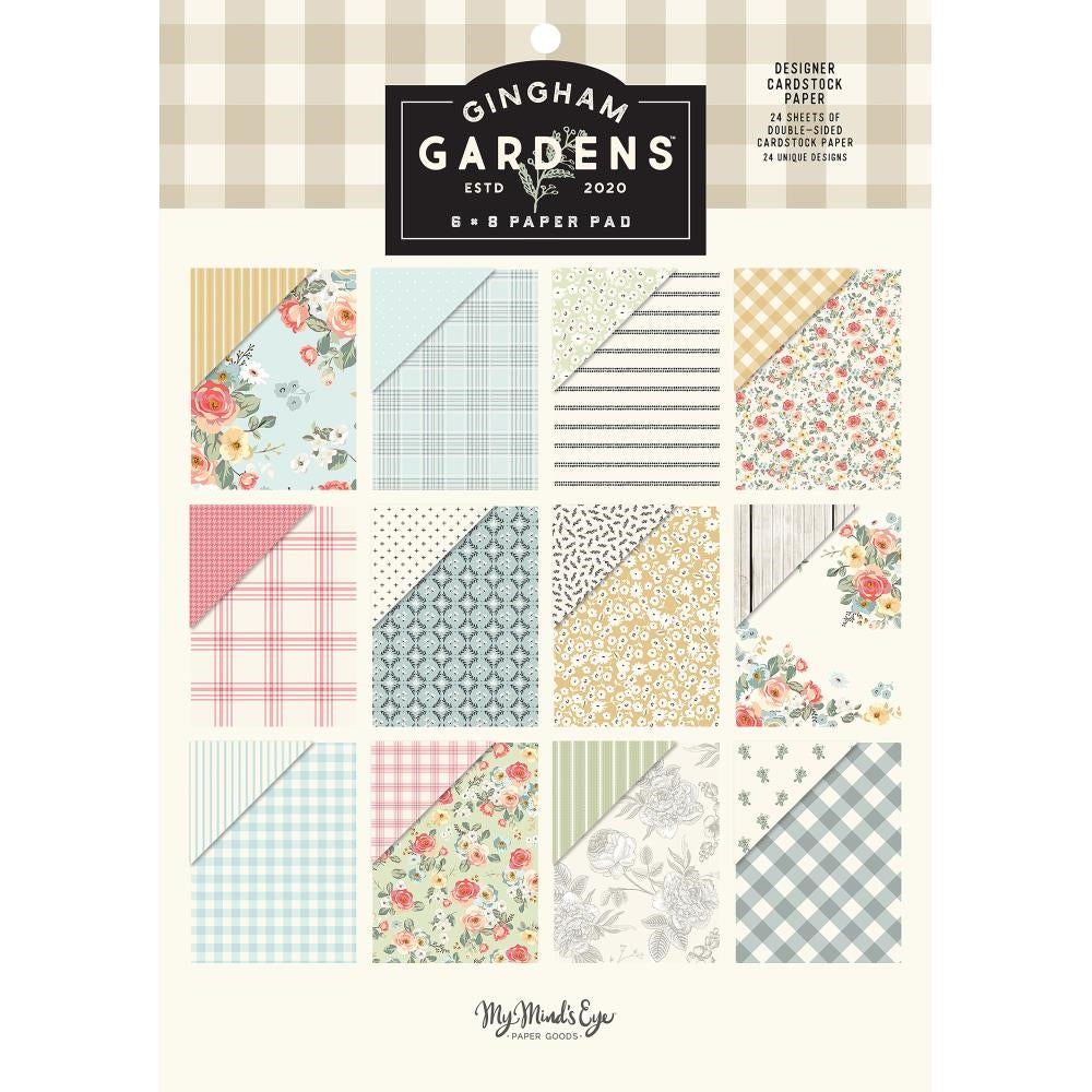 Gingham Gardens 6x8 Paper Pad